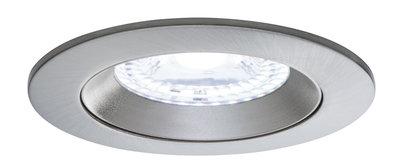 SmartHome ZB lens EBL set IP44 LED 3x1,7 W RGBW vast 230/24V 36W 80mm wt met/alu