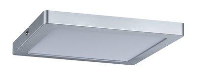 WallCeiling Atria LED-paneel 220x220mm 20W chroom mat 230V kunststof