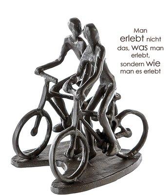 Beeldje fietsen