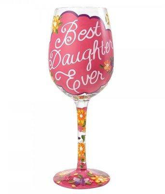 Wijnglas Beste dochter