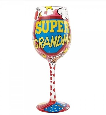 Wijnglas Super Oma