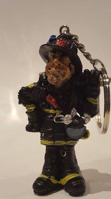 Sleutelhanger Brandweerman