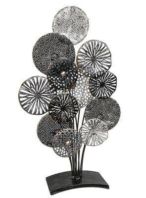 Metalen bloemen