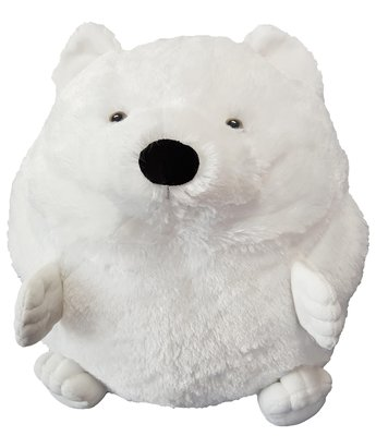 Sneeuwwitje de ijsbeer Knuffel handwarmer en kussen