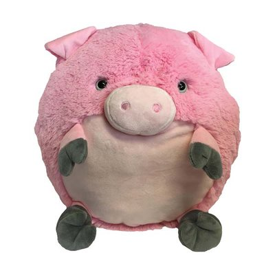 Piggy het biggetje knuffel handwarmer en kussen