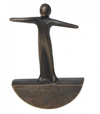 Ballans vinden bronzen beeldje