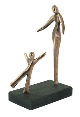 Bronzen beeld mijn schat