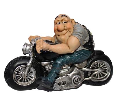 Beeldje Coole Motorrijder