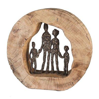 Beeldje Familie 4 personen