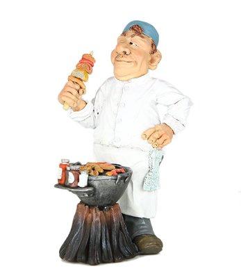 Beeldje Mister BBQ