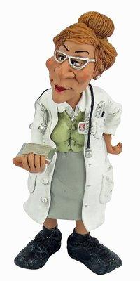 Beroepen beeldje arts vrouw