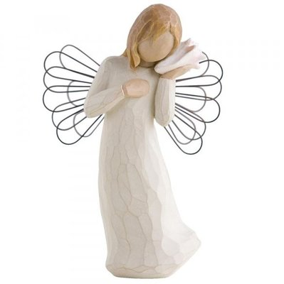 Willow tree beeldje Angel Thinking of You