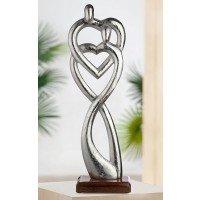 Metalen sculptuur Verbondenheid beeld