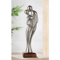 Metalen sculptuur Liefde in beweging beeld