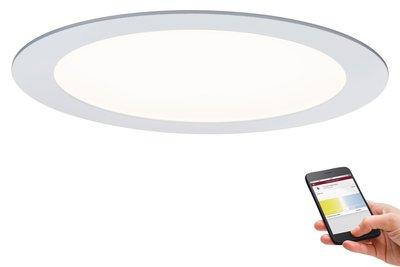 Prem EBL Set SmartPanel BLE tunw rond LED 1x13,5W 15VA 230V/350mA 225mm wt mat/a