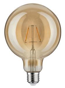LED schakelbordlamp 125 2,5W E27 230V goud 1700K