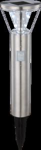 Solar Tuinlamp grondspies  rond met  Sensor