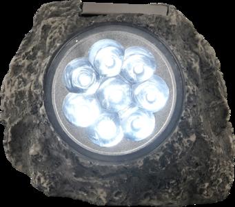 Solar Tuinlamp steen 8xLED