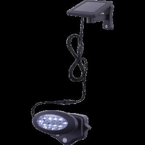 Solar wandlamp , spots rond