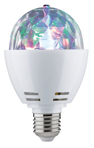 LED motion disco 1,5W E27 multicolor