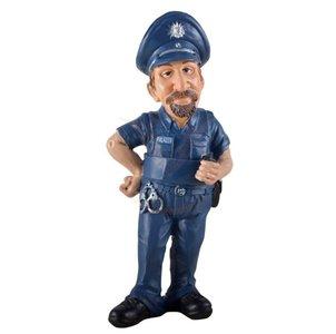 Beroepenbeeldje grappige politie agent