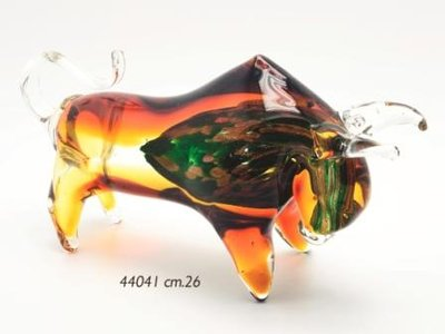 Stier van glas